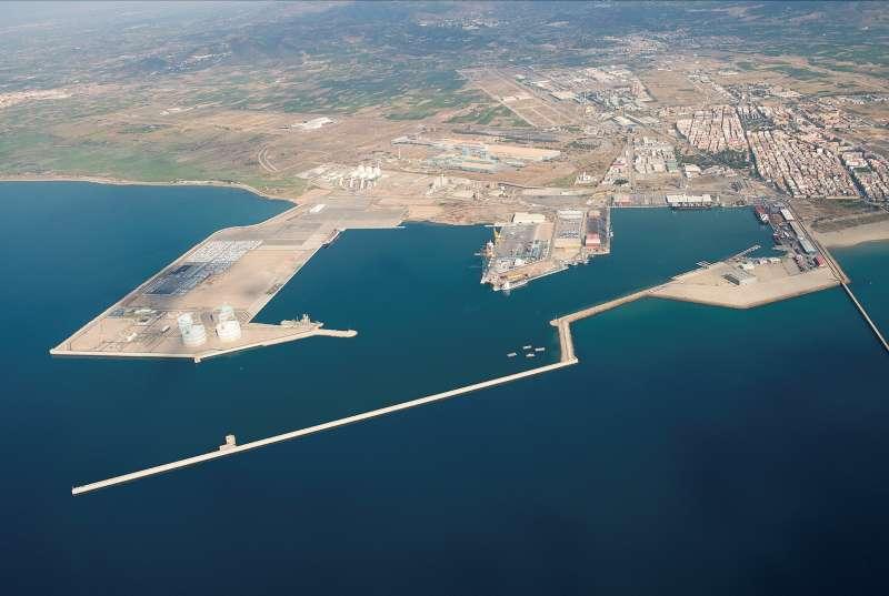 Imagen del puerto de Sagunt. EPDA