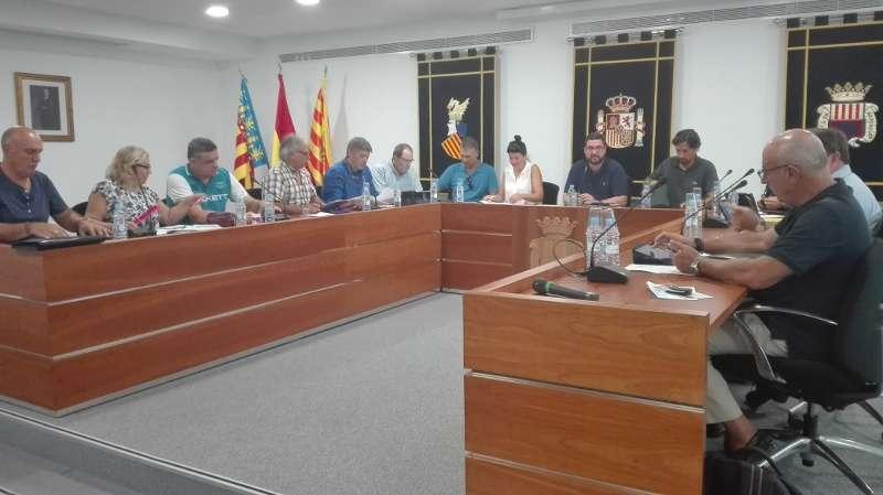 Pleno del Ayuntamiento de Canet