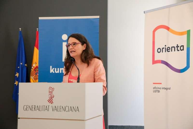 La vicepresidenta de la Generalitat, Mónica Oltra. GVA