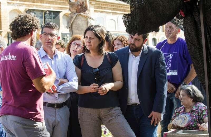 Exhumación Fosa 113 de Paterna. Foto Abulaila.