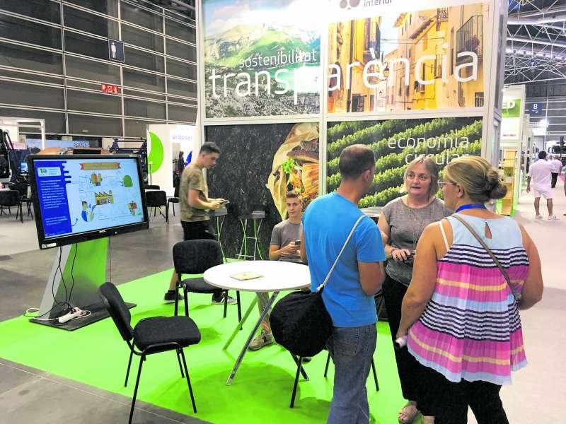 El stand de CVI en Ecofira. / EPDA