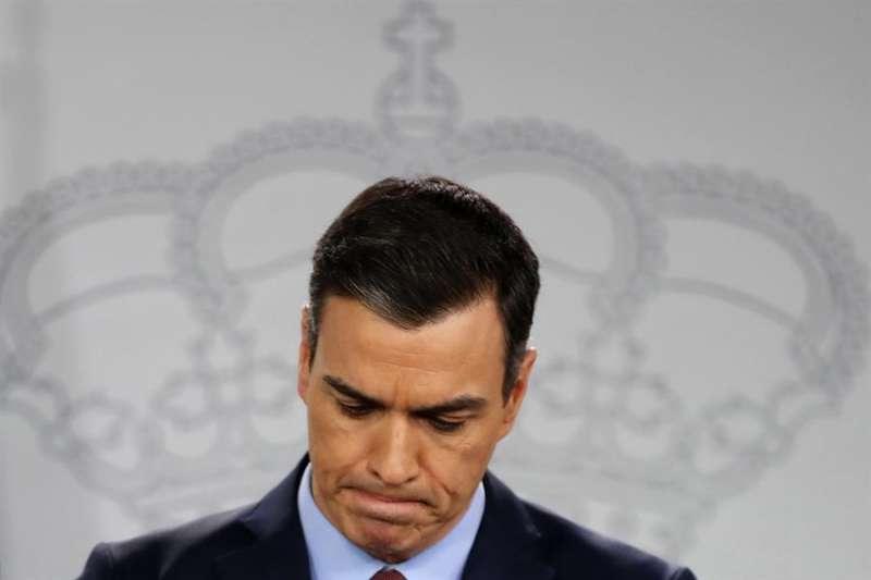 El presidente del Gobierno, Pedro Sánchez. EFE/JAVIER LIZÓN/Archivo