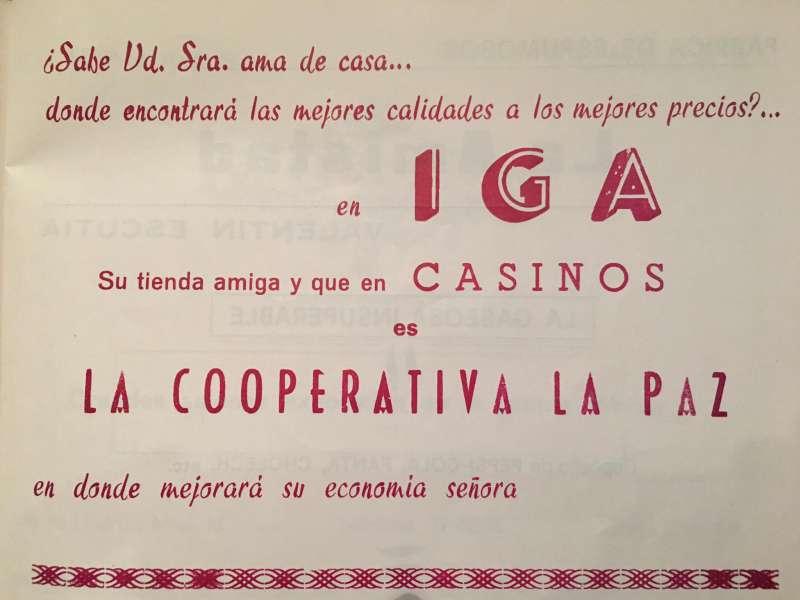 ANUNCIOS 1970 archivo JSMS