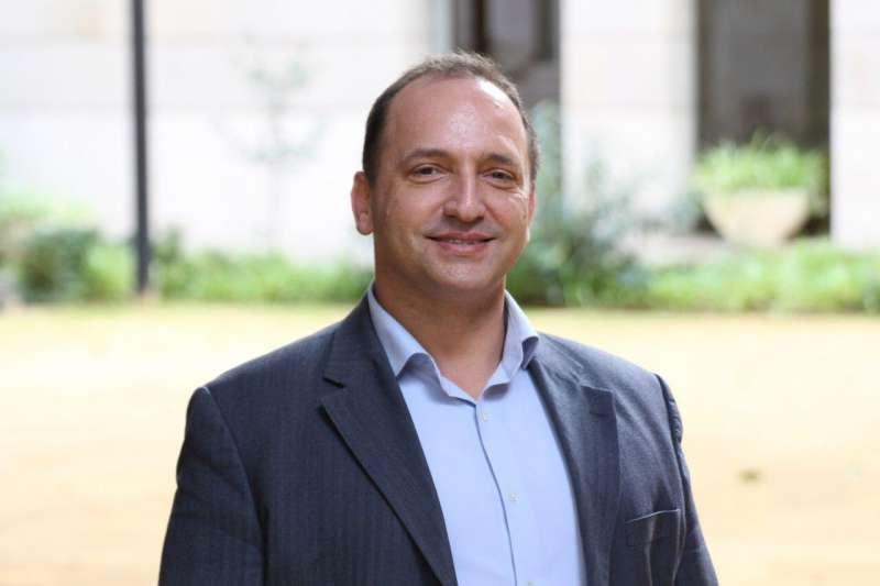 Rubén Martínez Dalmau, candidato de Unides Podem. EPDA.