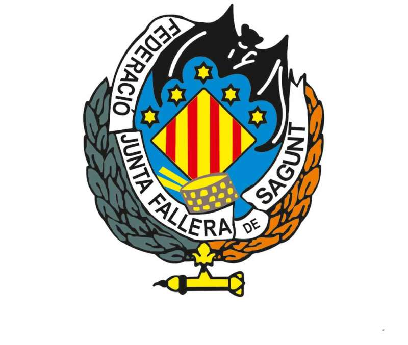 Escudo de la Federación Junta Fallera de Sagunto