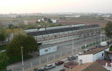 Vista del Col.legi Públic Cervantes.