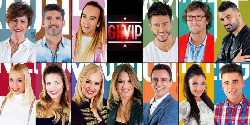 Los concursantes de Gran Hermano VIP 5. //EPDA