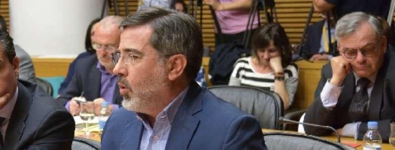 El Portavoz de Infraestructuras del Grupo Popular en Les Corts, Alfredo Castelló