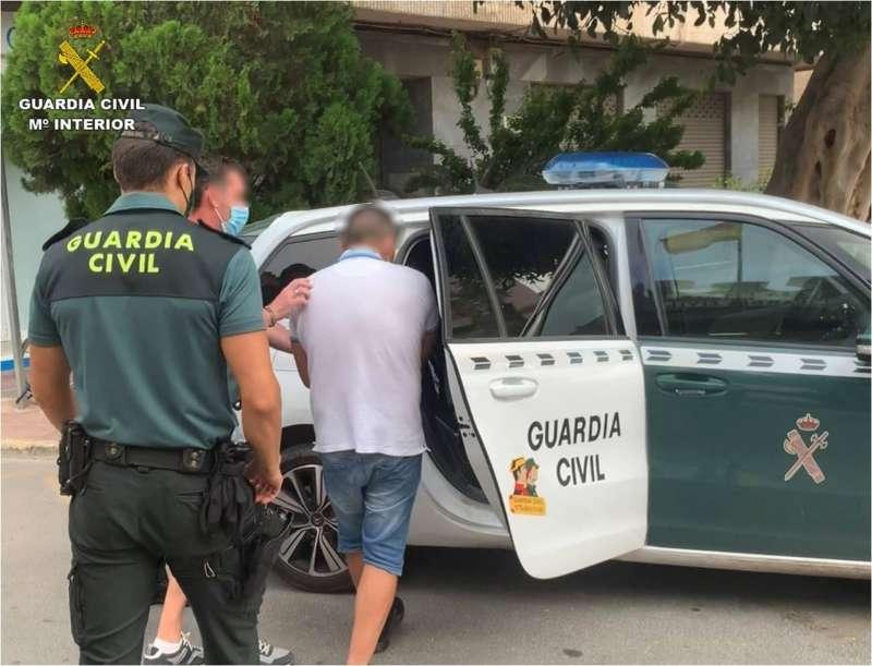 Detención de la Guardia Civil. EPDA