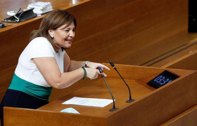 La portavoz del grupo popular en Les Corts y presidenta del PPCV, Isabel Bonig. EFE