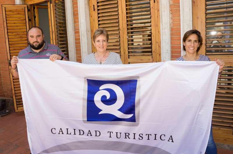 La bandera aja està en El Puig. EPDA
