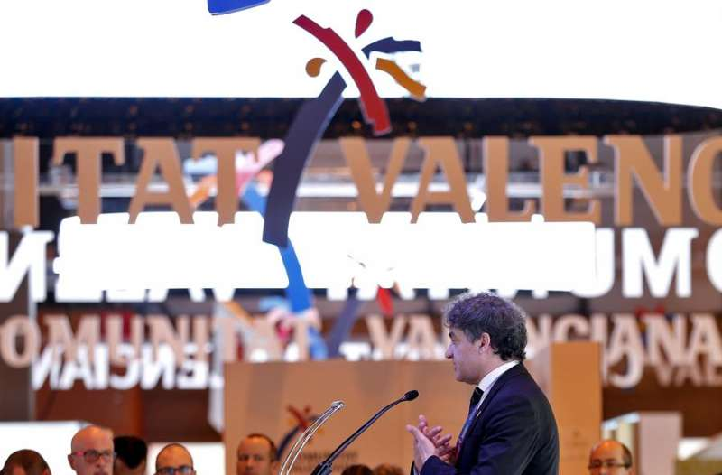 El secretario autonómico de la Agència Valenciana del Turisme, Francesc Colomer. EFE