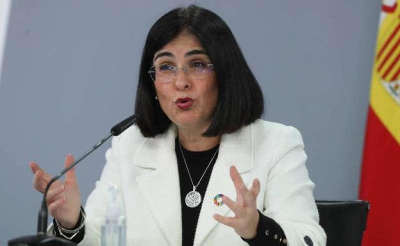 Ministra de Sanidad, Carolina Darias