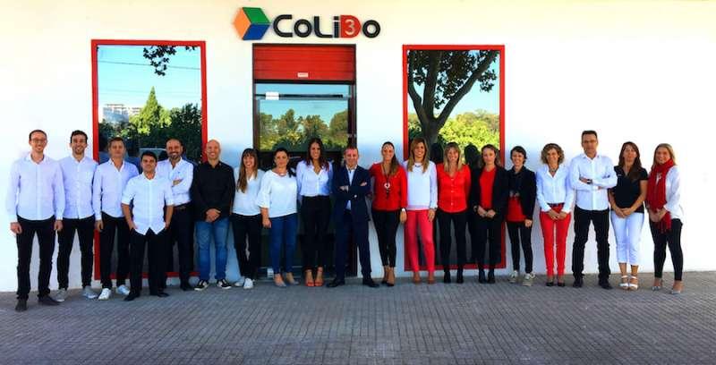 El equipo de Colido. FOTO EPDA