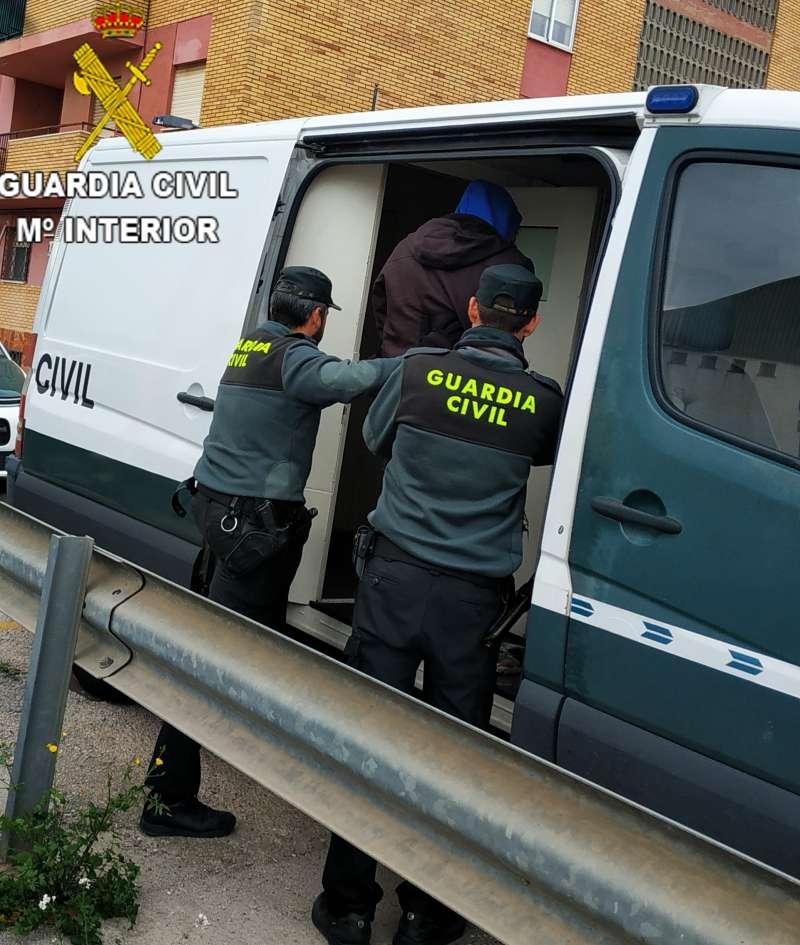Imagen de la detención. EPDA