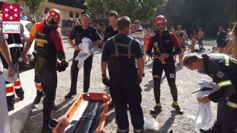 Complicado rescate del joven madrileño
