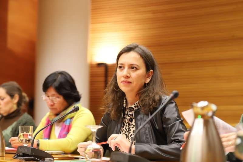 Yaneth Giraldo, diputada de Ciudadanos. EPDA