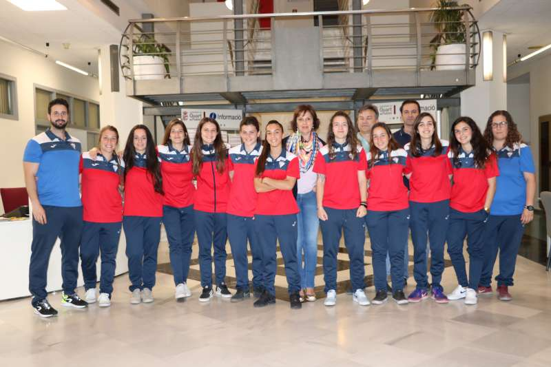 Equipo femenino de Futbol 11 de la UD Quart