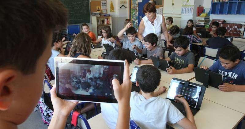 Alumnos de Altura. Foto archivo
