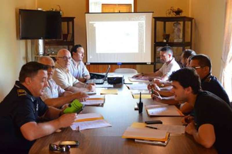 Reunión del consejo de seguridad de AEMON. EPDA