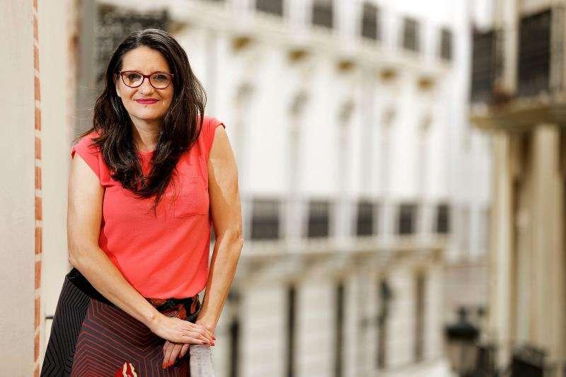 La vicepresidenta del Gobierno valenciano, Mónica Oltra. EFE/Archivo