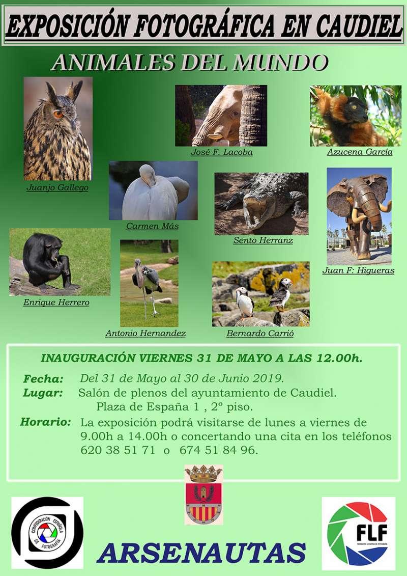 Exposición fotográfica en Caudiel. / epda