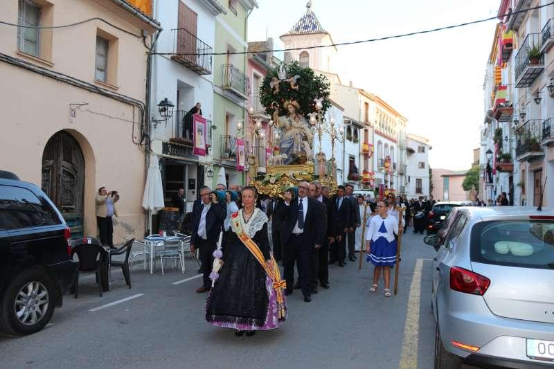 La patrona de Jérica desfilará en procesión
