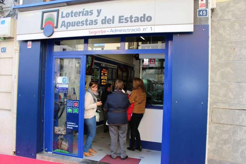 La administración de Loterías de Segorbe