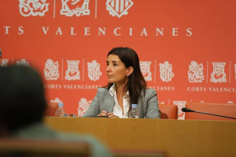 La diputada de Ciudadanos Ruth Merino. EFE