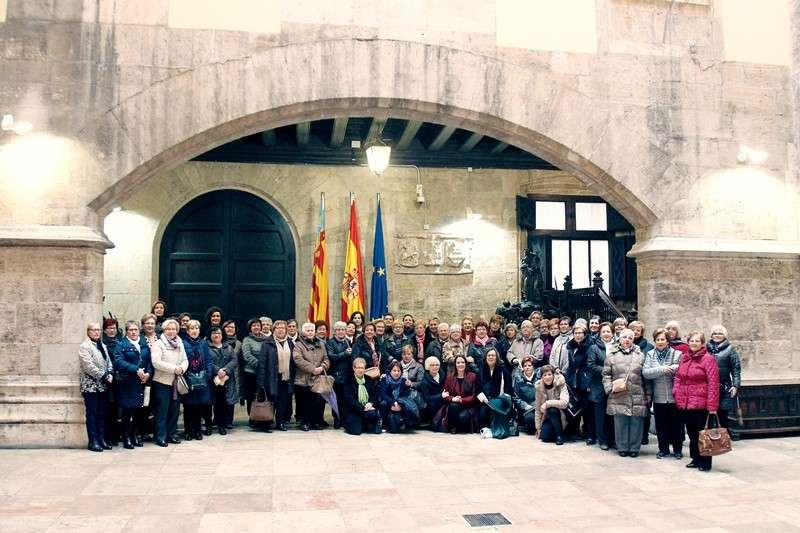 Visita al Palau de la Generalitat. EPDA
