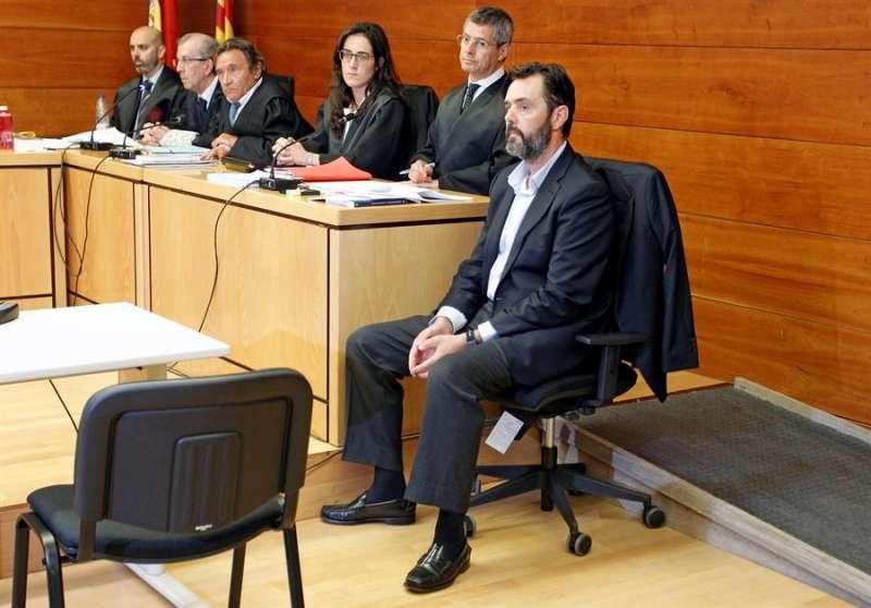 Miguel López, el yerno de la viuda del expresidente de la extinta Caja de Ahorros del Mediterráneo (CAM). EFE/Morell/Archivo