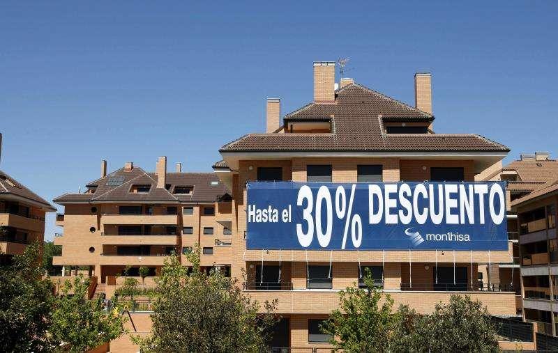 En la imagen, viviendas en venta. EFE/Archivo