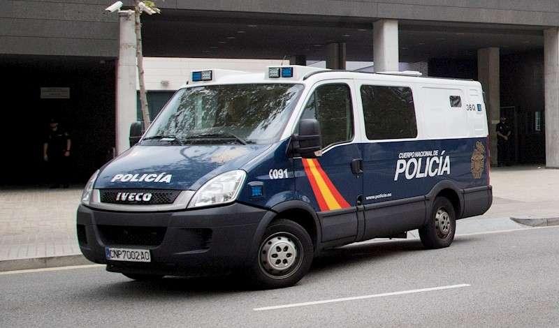 Un vehículo de la Policía Nacional. EFE/Archivo