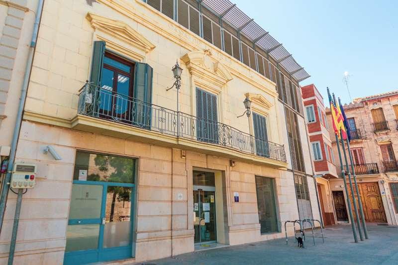 Fachada del Ayuntamiento de Massamagrell. EPDA