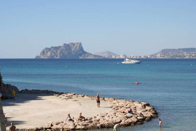 La costa de Teulada, uno de los municipios más turísticos de la Comunitat