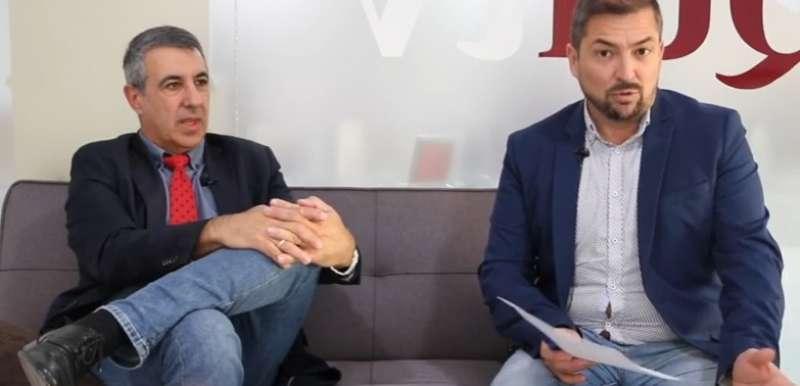 García Nebot entrevistado por Pere Valenciano. EPDA