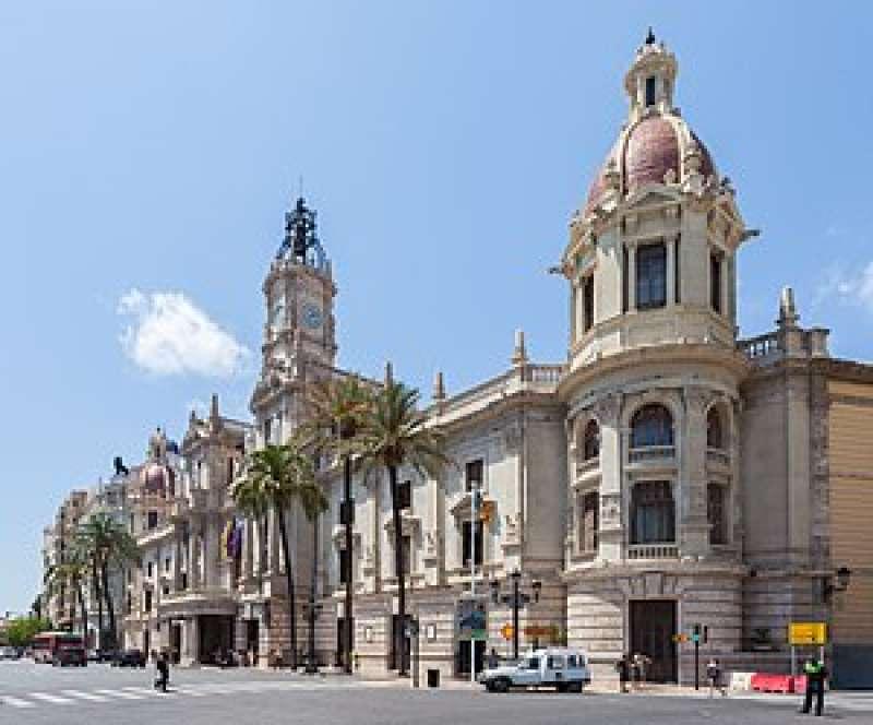 Imagen de archivo del Ayuntamiento de València. EPDA
