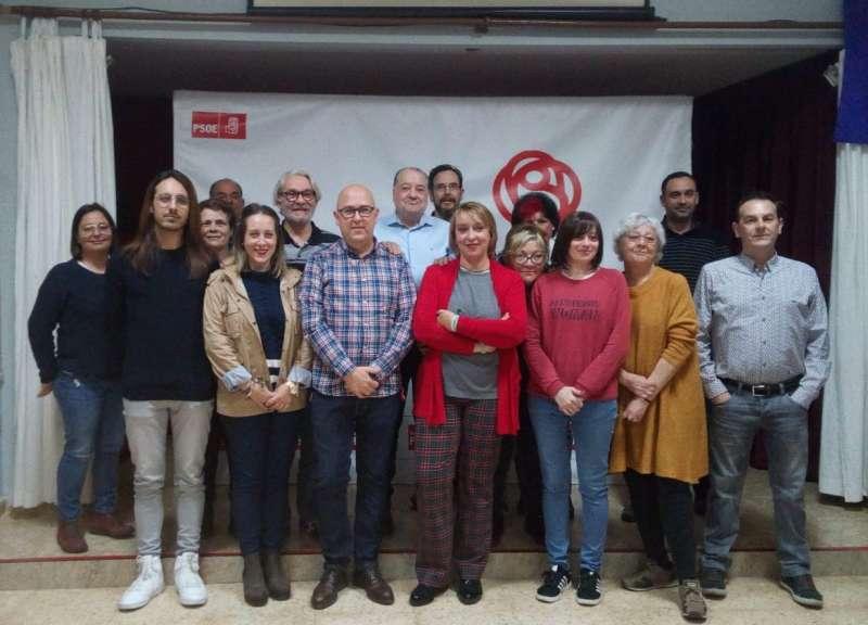 Miembros de los candidatos del PSPV-PSOE Benetússer