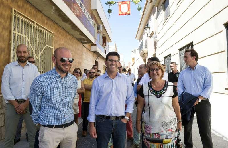 Rodríguez visita obras en Picassent.