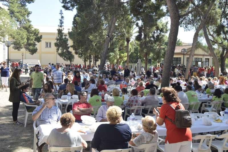 Celebración de la festividad en Burjassot. EPDA