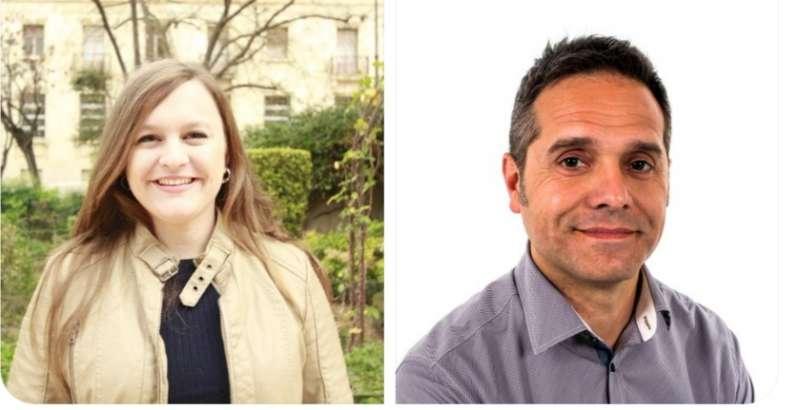 Alba Quesada i Amadeu Sanchis, candidats d?EUPV per a les Eleccions Europees