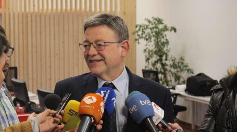 El secretario general de los socialistas valencianos y president de la Generalitat, Ximo Puig