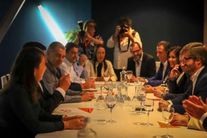 Acto anoche de inicio de curso político de Cs en Alzira.