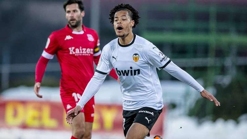Koba Lein. Fotografía del Valencia CF.