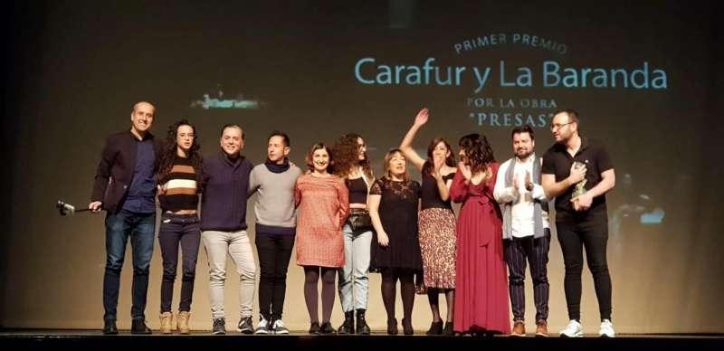 Primer Premio Rambal Concurso de Teatro para aficionados Ciudad de Utiel./EPDA