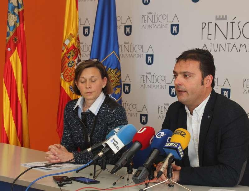 Andrés Martínez,alcalde de Peníscola