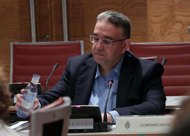 El jefe de gabinete del presidente de Las Cortes Valencianas, Lluís Miquel Campos,. EFE/Archivo