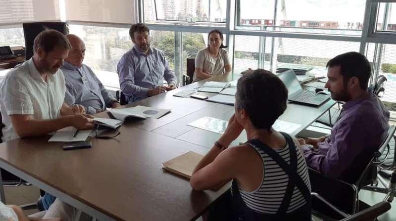 Reunión con el secretario autonómico