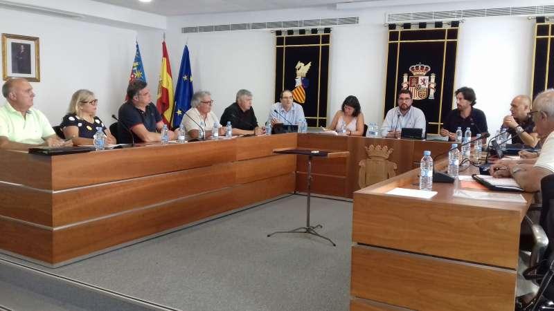 Pleno de agosto en Canet. EPDA