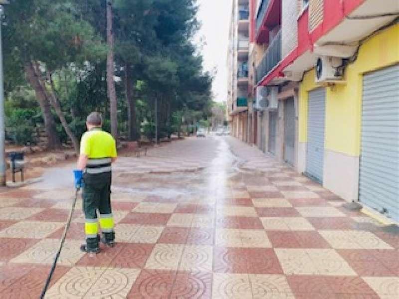 Limpieza de las calles. EPDA.